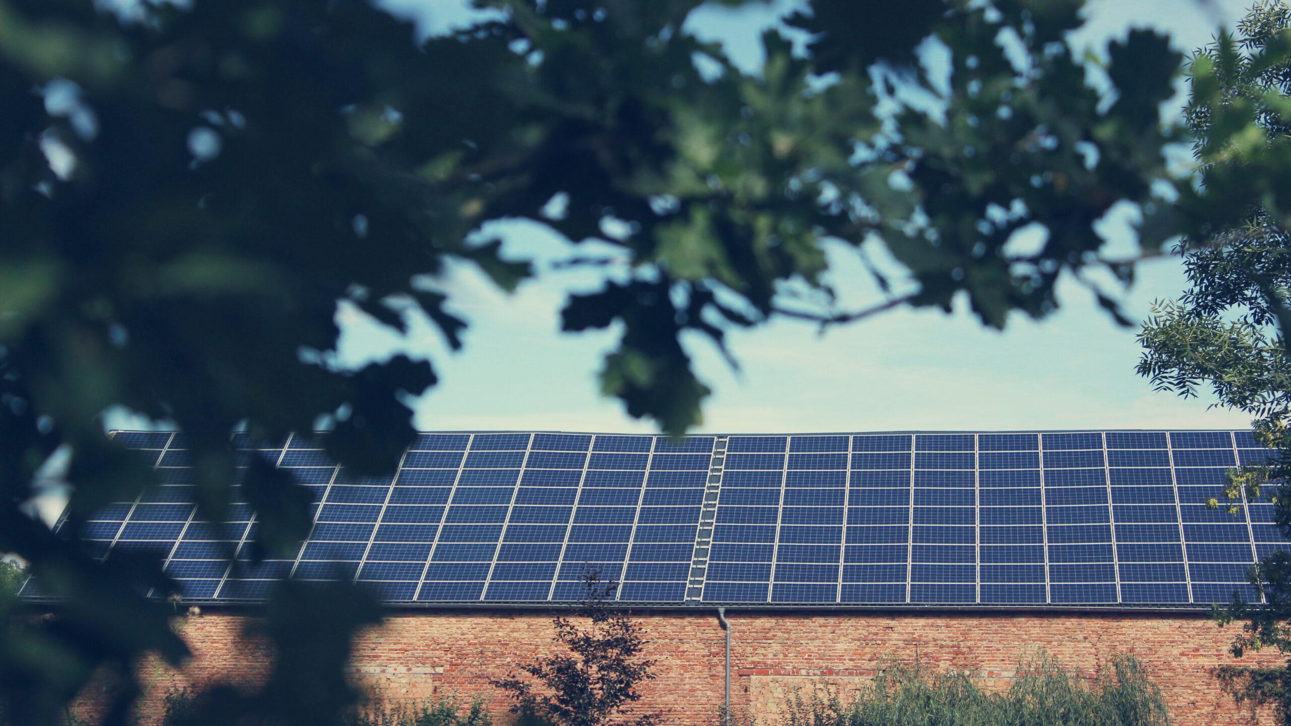 Scheune Solar